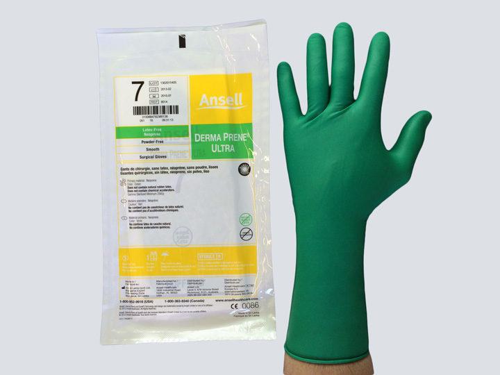 Gloves - Sterile (Green)