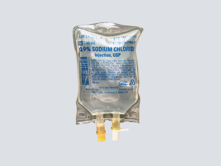 IV Bag - Sodium Chloride 100 ml