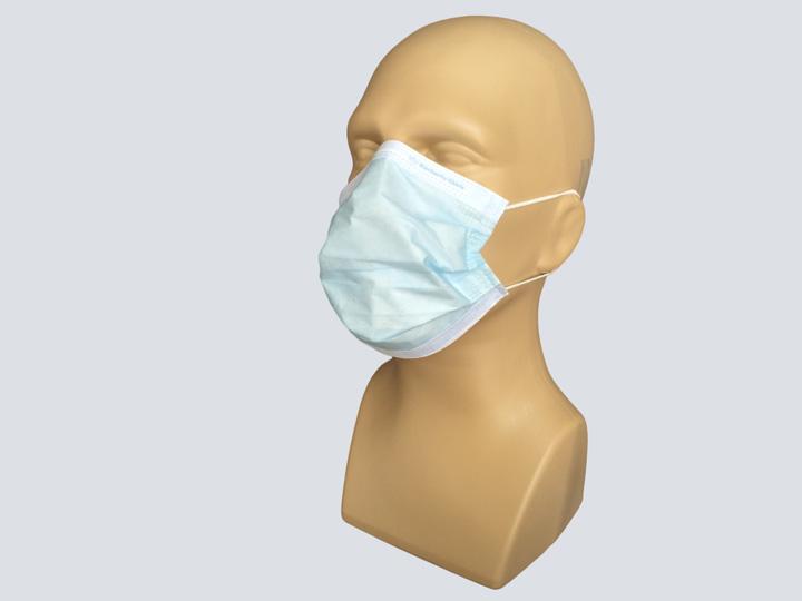 Mask - Blue Procedure Mask - Loops