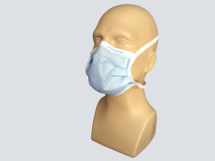 Mask - Blue Surgical Mask - Ties