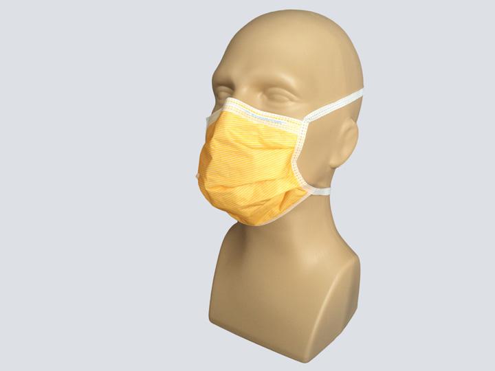 Mask - Orange Surgical Mask - Ties