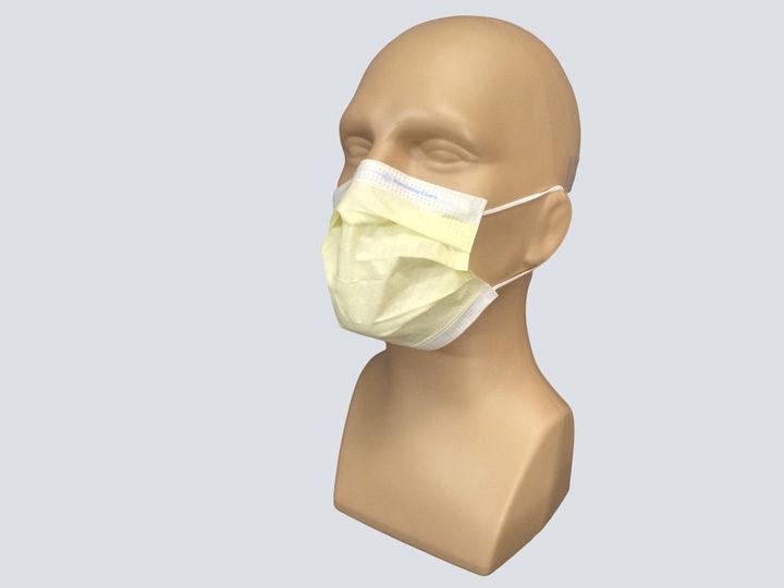 Mask - Yellow Procedure Mask - Loops