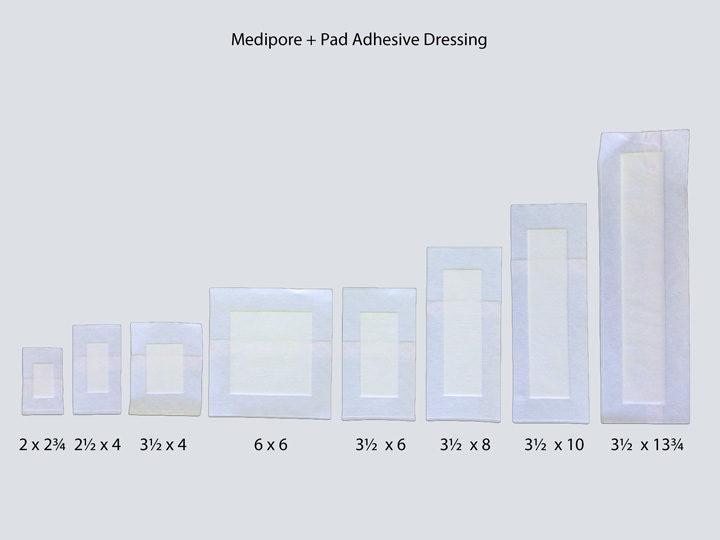 Adhesive Dressing - Medipore +Pad
