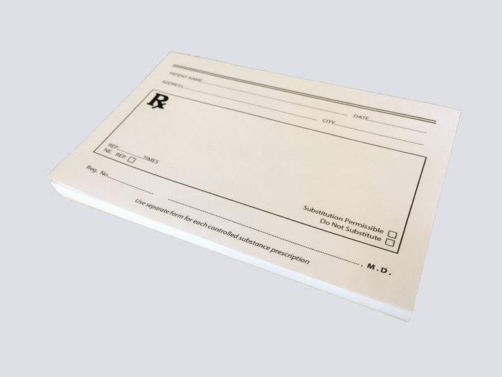Rx Prescription Pads
