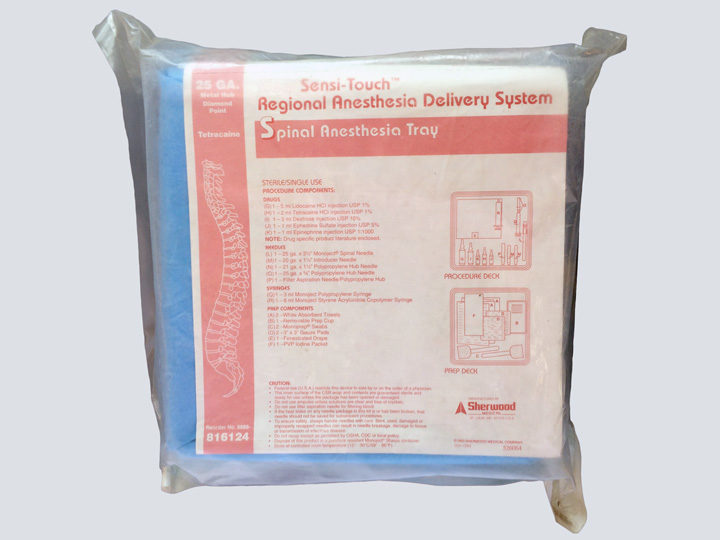Spinal Anesthesia Tray
