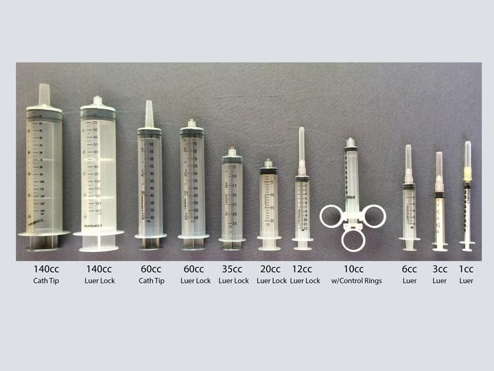 Syringes - Various Sizes