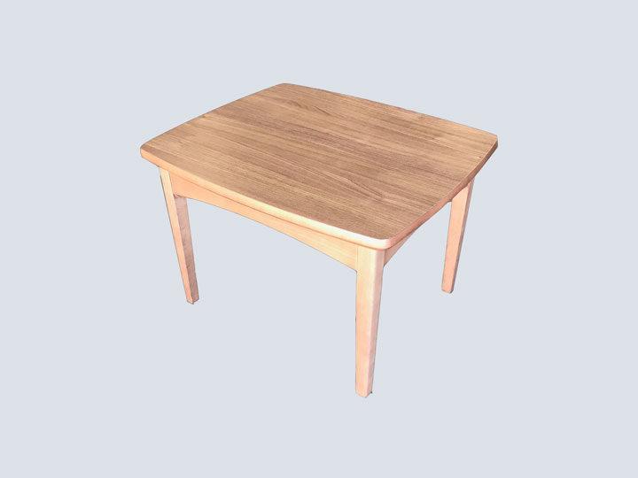 Side Table - Rectangular (Light Wood)