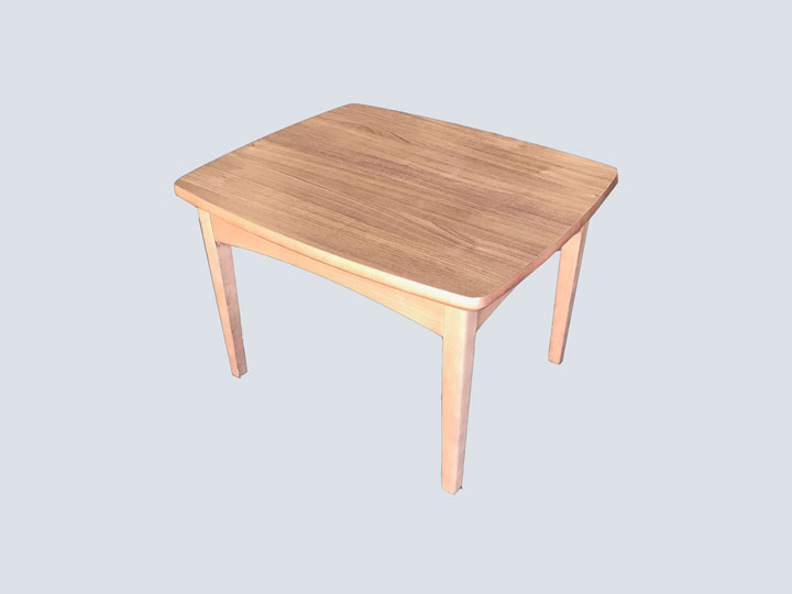 Side Table - Rectangular (Light Wood)