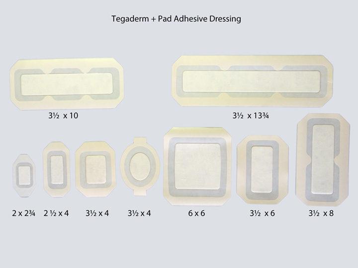 Adhesive Dressing - Tegaderm +Pad