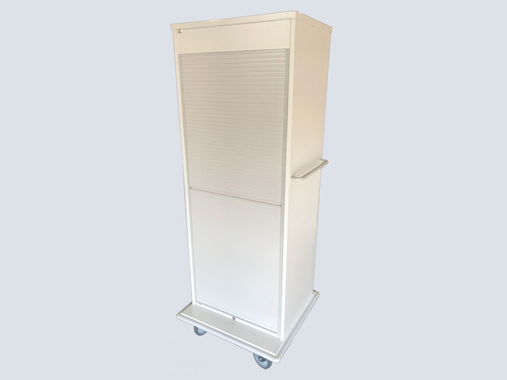 Roll Top Storage Supply Cart (Tall Version)