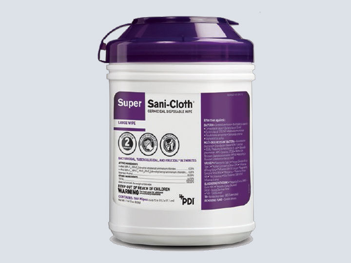 Sani-Cloth, Germicidal Wipes, Super (Purple)