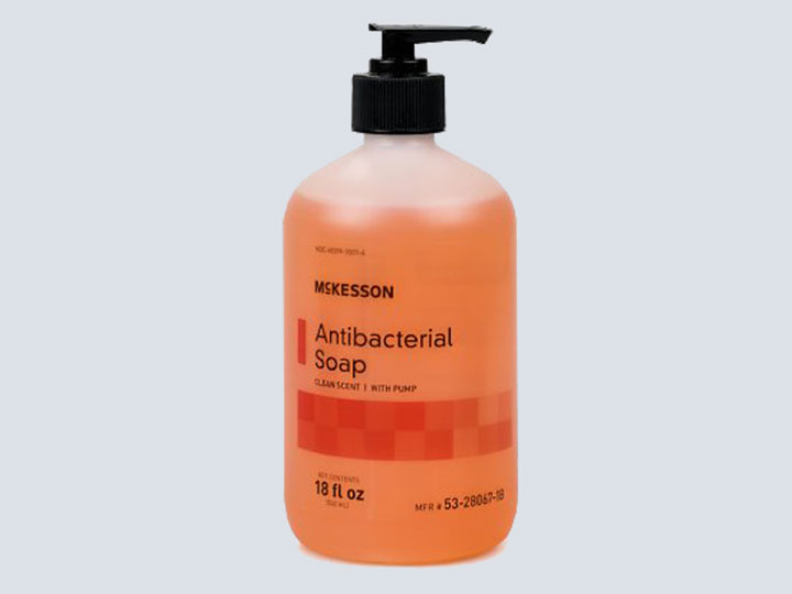 Soap - Antibacterial (Orange Bottle)