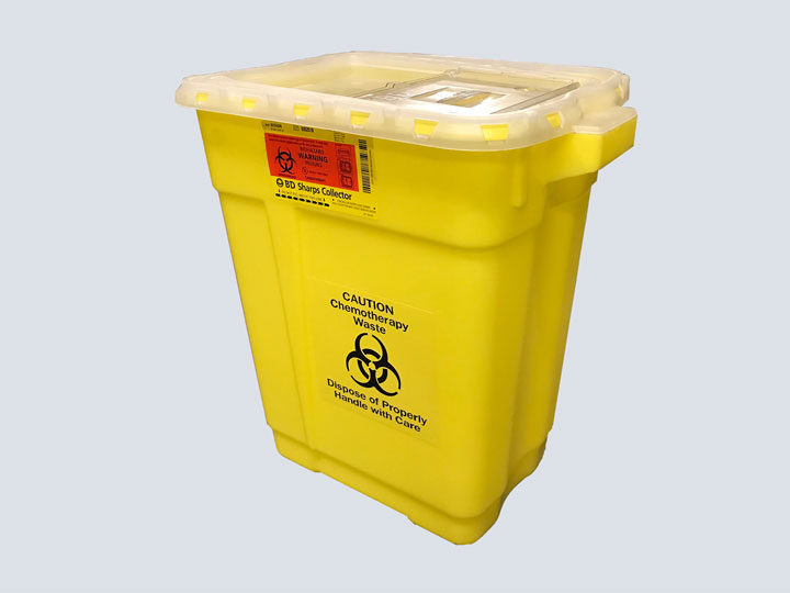 Chemotherapy-Waste-Bin-(Yellow-Biohazard)